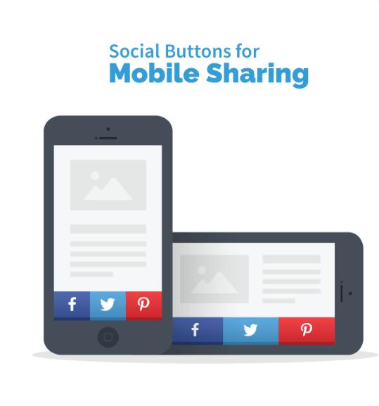 Tương tác ứng dụng chia sẻ mạng xã hội dễ dàng