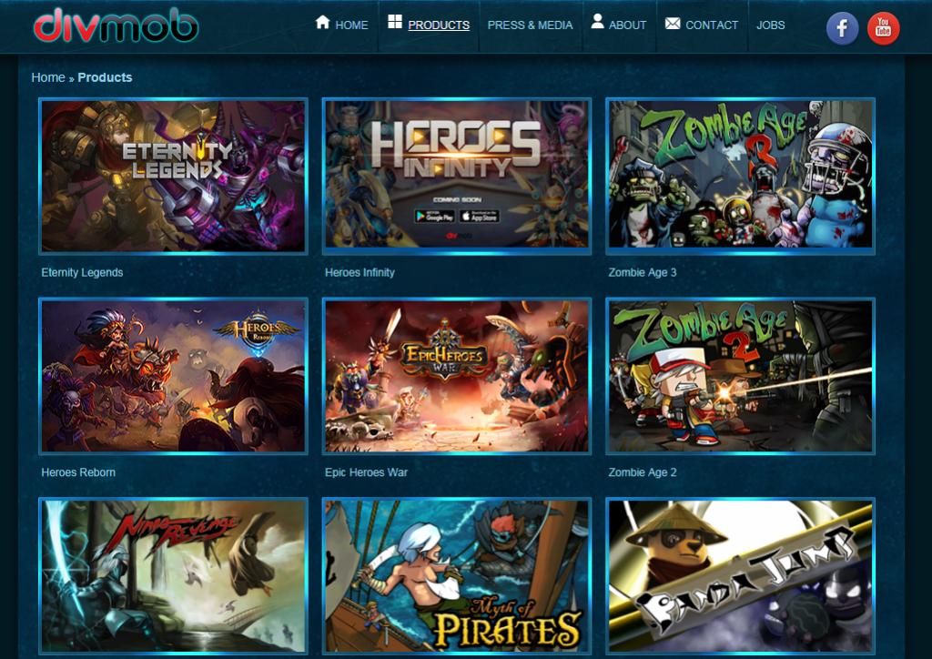 Công ty thiết kế game Divmob
