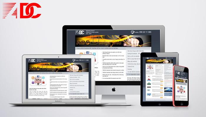 Dịch vụ thiết kế web giá rẻ - ADC