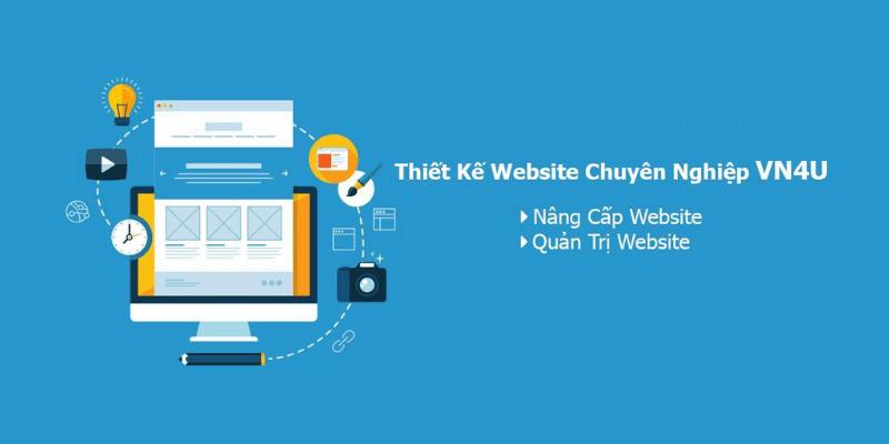 thiết kế website giá rẻ vn4u